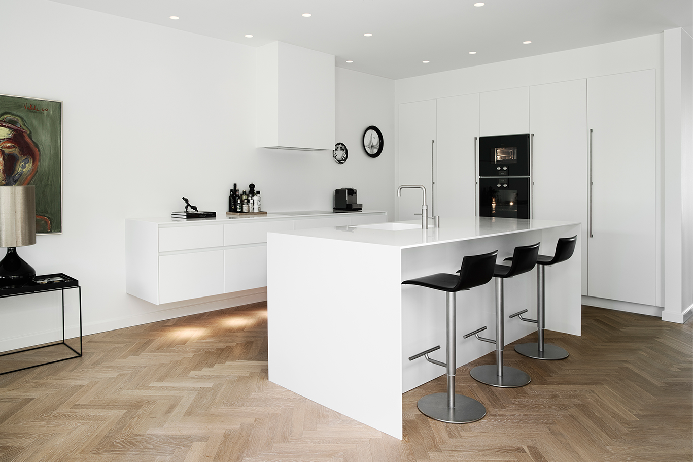 The patrician's villa was given a timeless new Multiform kitchen
