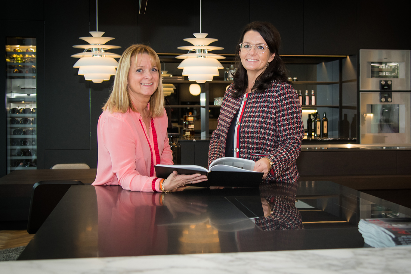 Bettina Mortensen and Jannie Kjær are owners of Multiform Aalborg