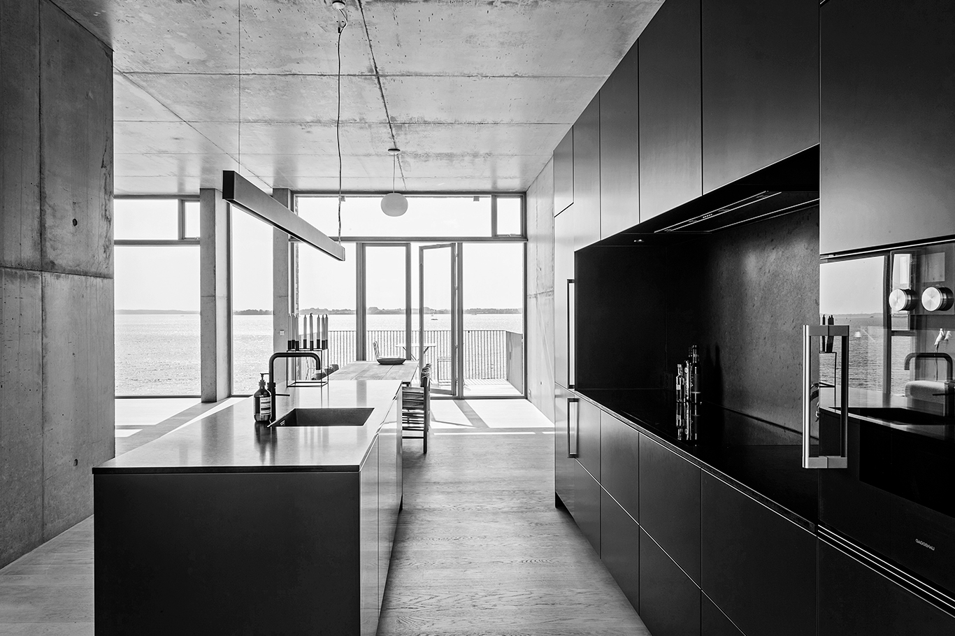 A Form 2 bespoke kitchen designed by Piet Rose, Multiform Lyngby